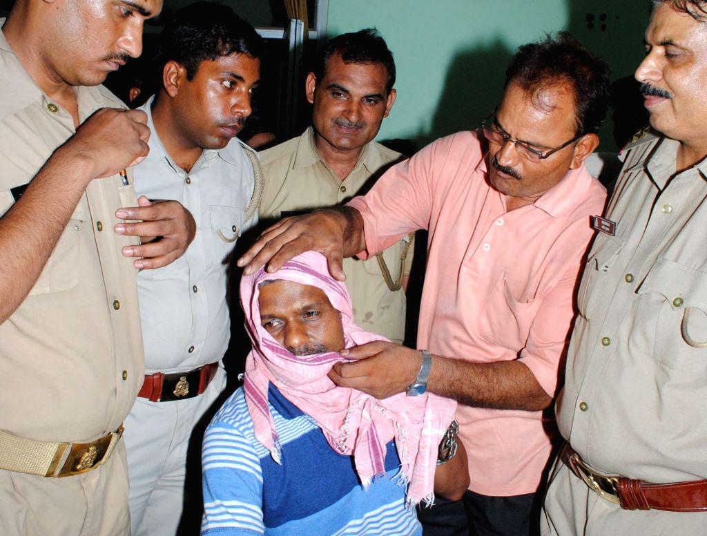 Rakesh Gupta, one of the accused in the Mathura's Jawahar Bagh violence in Mathura on June 18, 2016. - Rakesh Gupta