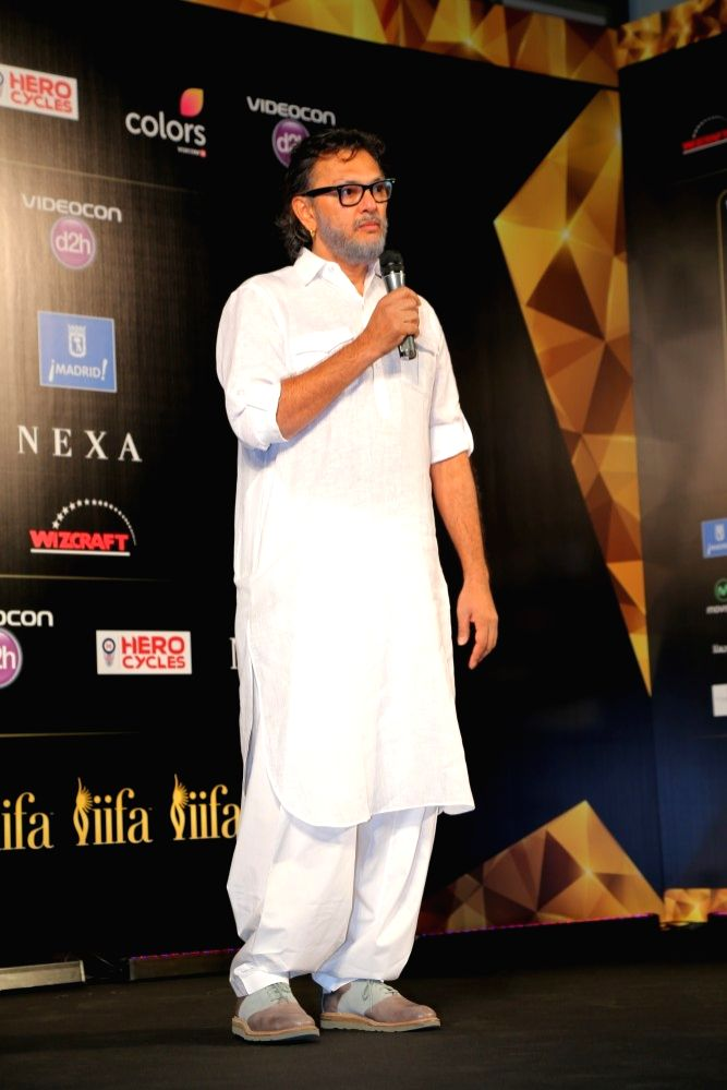 Rakeysh Omprakash Mehra during the IIFA 2016 opening press conference in Madrid on June 23, 2016.