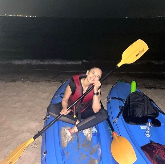 Rakul Preet shares photos of Holi weekend in Goa. (Credit : Rakul Preet/twitter)