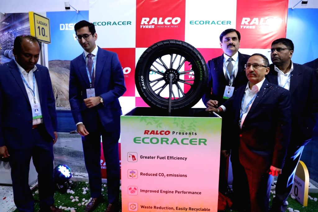 "Ralson Tyres on Friday launched an ""innovative and eco-friendly"" 120/80 section 18-inch Eco Racer two-wheeler tyre at the Auto Expo 2020."