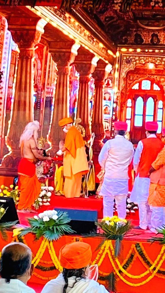 Ram Darbar in Ayodhya in Ayodhya, Uttar Pradesh on November 13, 2020.