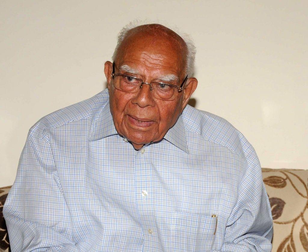 Ram Jethmalani. (File Photo: IANS)