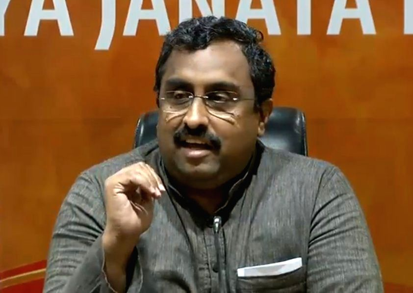 Ram Madhav. (File Photo: IANS)