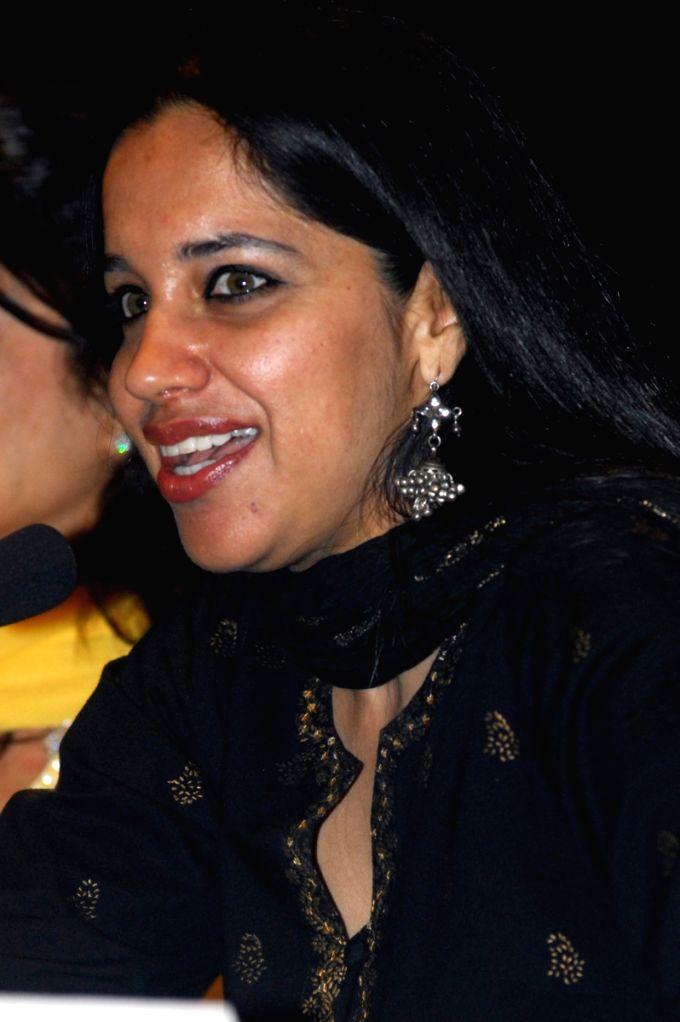 "Ramanjit Kaur  actress of  Director Deepa Mehta's  new film ""Videsh-Heaven on earth"" at a press conference with deepa  in Kolkata on Thursday 19th Mar 09. - Ramanjit Kaur"
