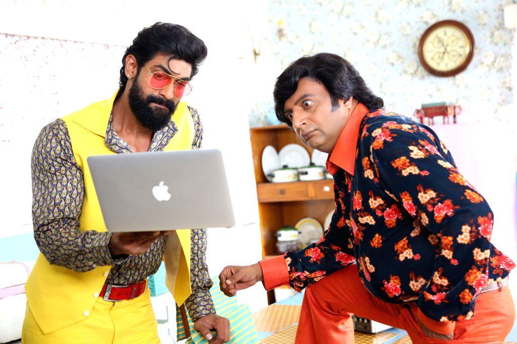 Rana Daggubati and Prakash Raj