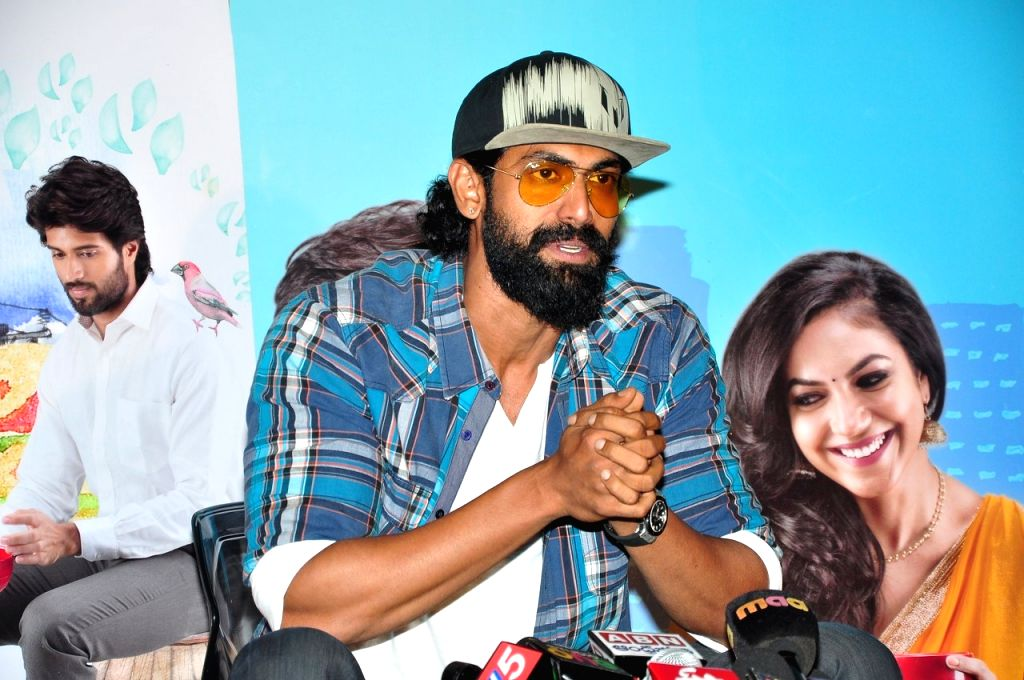 Rana Daggupati watched Pelli Choopulu Movie.