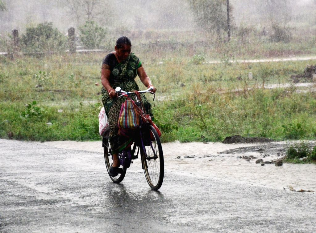 Ranchi, June 13 (IANS) The monsoon hit Jharkhand on Saturday as many districts reported rain.