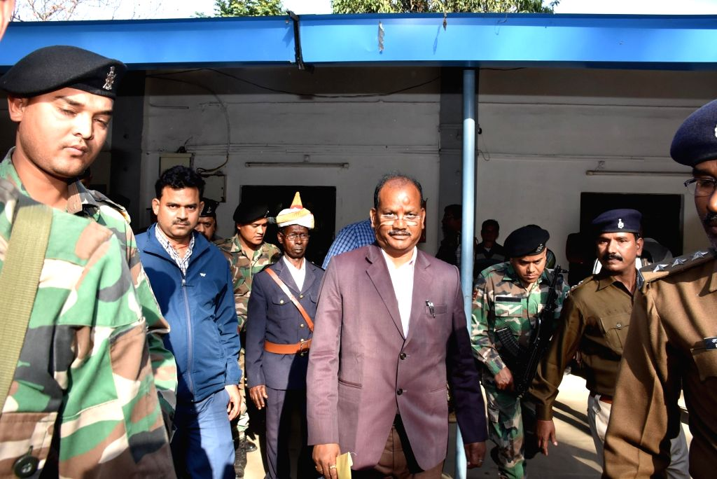 Ranchi: The Jharkhand Assembly speaker Dinesh Oraon who dismissed the petition seeking disqualification of six legislators who had defected to the ruling Bharatiya Janata Party (BJP) from the Jharkhand Vikas Morcha-Prajatantrik (JVM-P); in Ranchi on  - Dinesh Oraon