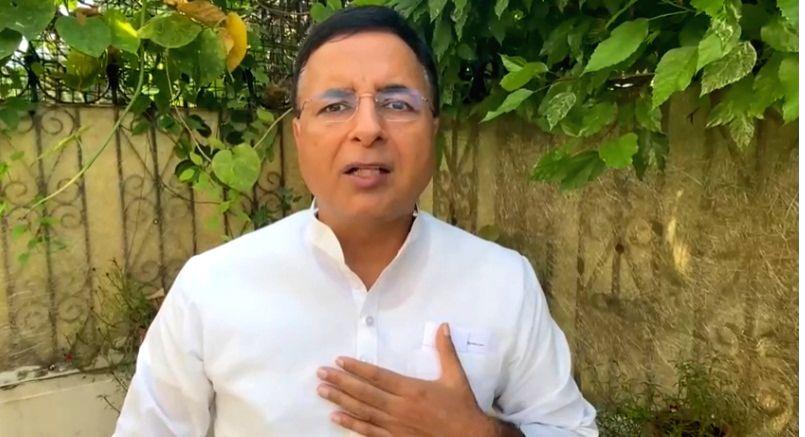 Randeep Singh Surjewala speak during Lakhimpur Kheri. - Randeep Singh Surjewala