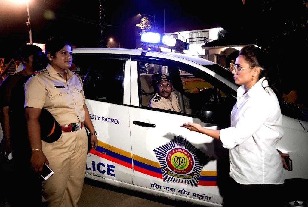 Rani Mukerji meets special night patrol police team