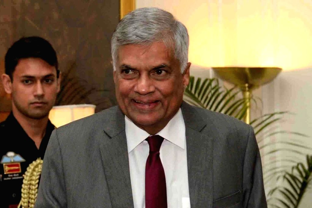 Ranil Wickremesinghe.(File Photo: IANS)