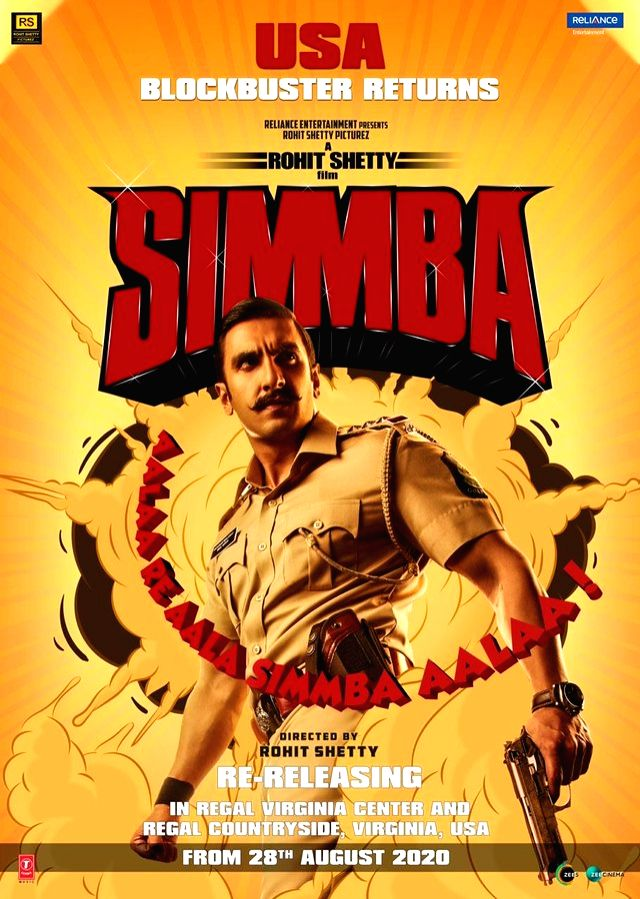 Ranveer's 'Simmba', Hritihik's 'Super 30' re-release in US.