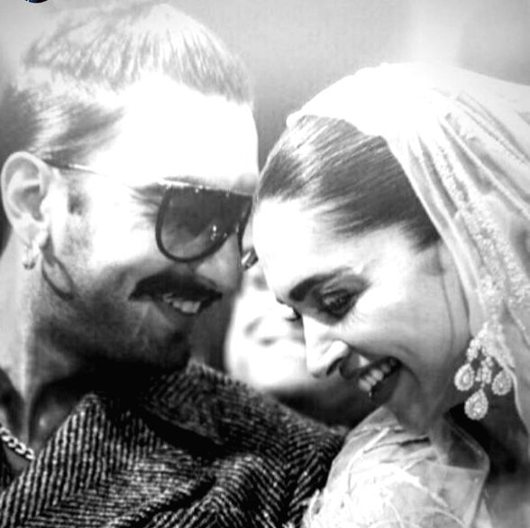 Ranveer Singh has never shied away from expressing his love for his wife, Deepika Padukone. On Friday, the actor shared a romantic black and white photograph of the couple taken at an award event ... - Ranveer Singh and Deepika Padukone