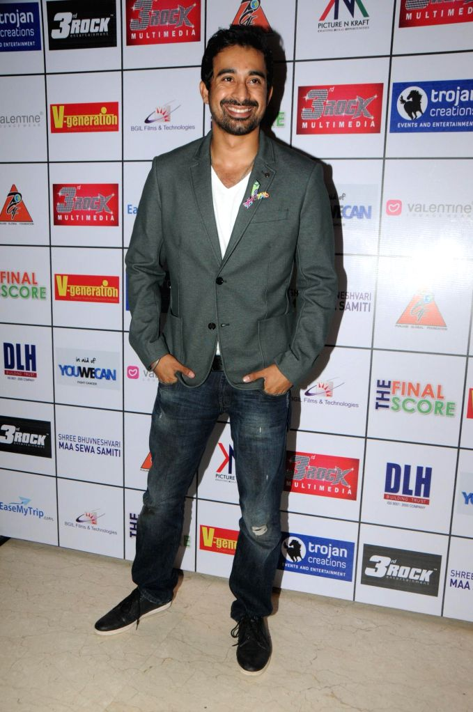 Ranvijay during the Satinder Sartaj's `Mehefil-e-Sartaaj` live concert at Hotel Novotel in Juhu, Mumbai on Saturday, June 21, 2014.
