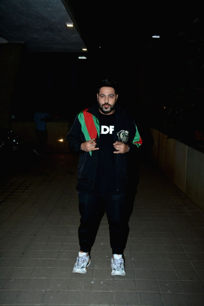 Rapper Badshah at a party hosted by director Punit Malhotra on Valentine's Day in Mumbai, on Feb 14, 2019. - Punit Malhotra