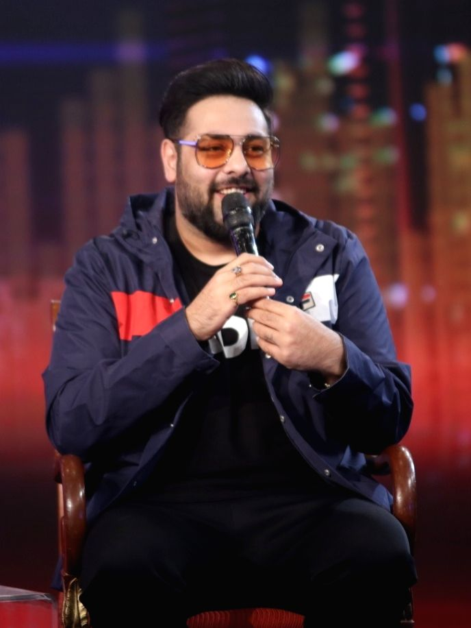 "Rapper Badshah at ""NDTV Yuva 2018"", in New Delhi on Sept 16, 2018."