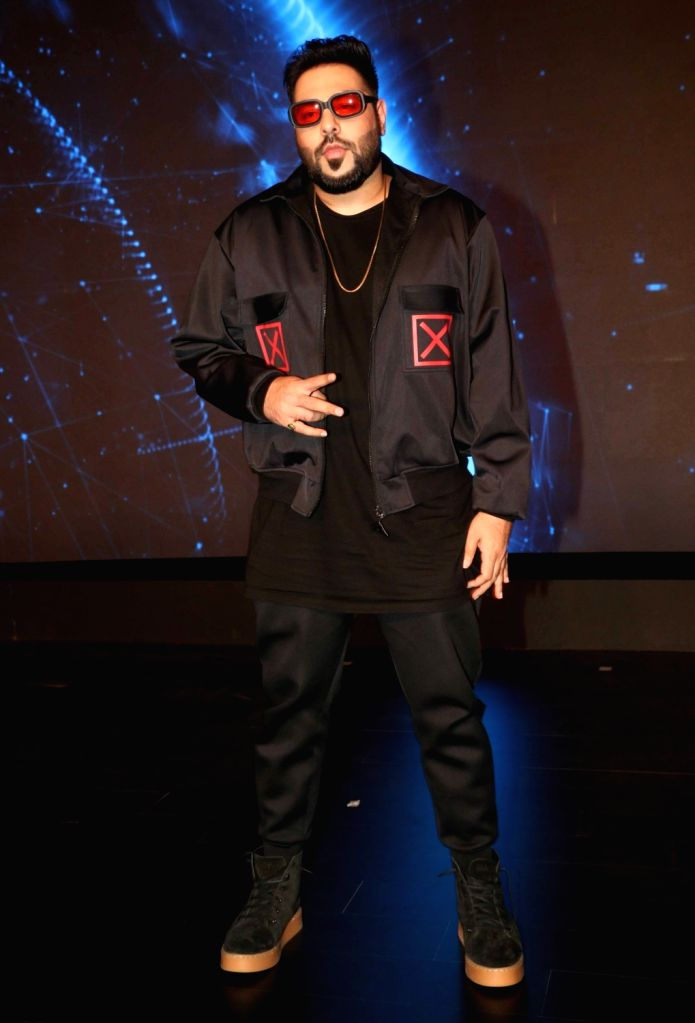 Rapper Badshah at the launch of  ZEE5 digital entertainment in Mumbai on Feb 14, 2018.(Photo: IANS)S