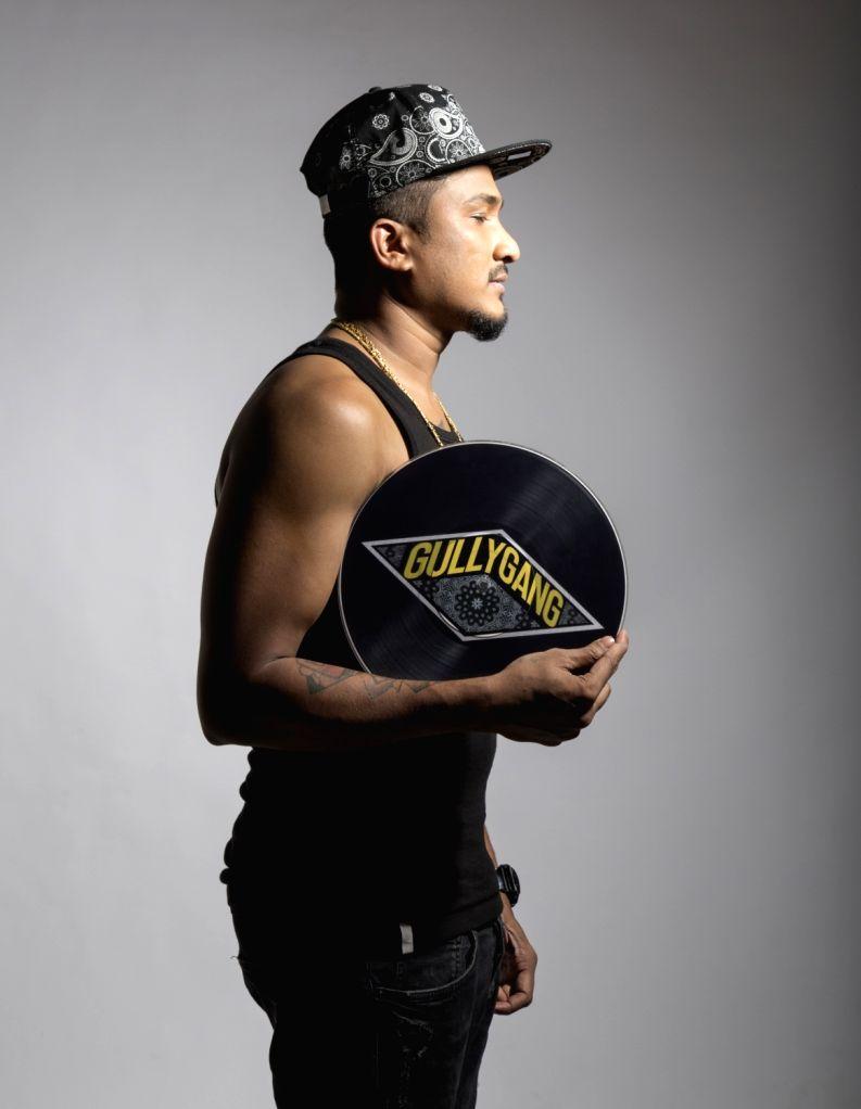 Rapper Divine.