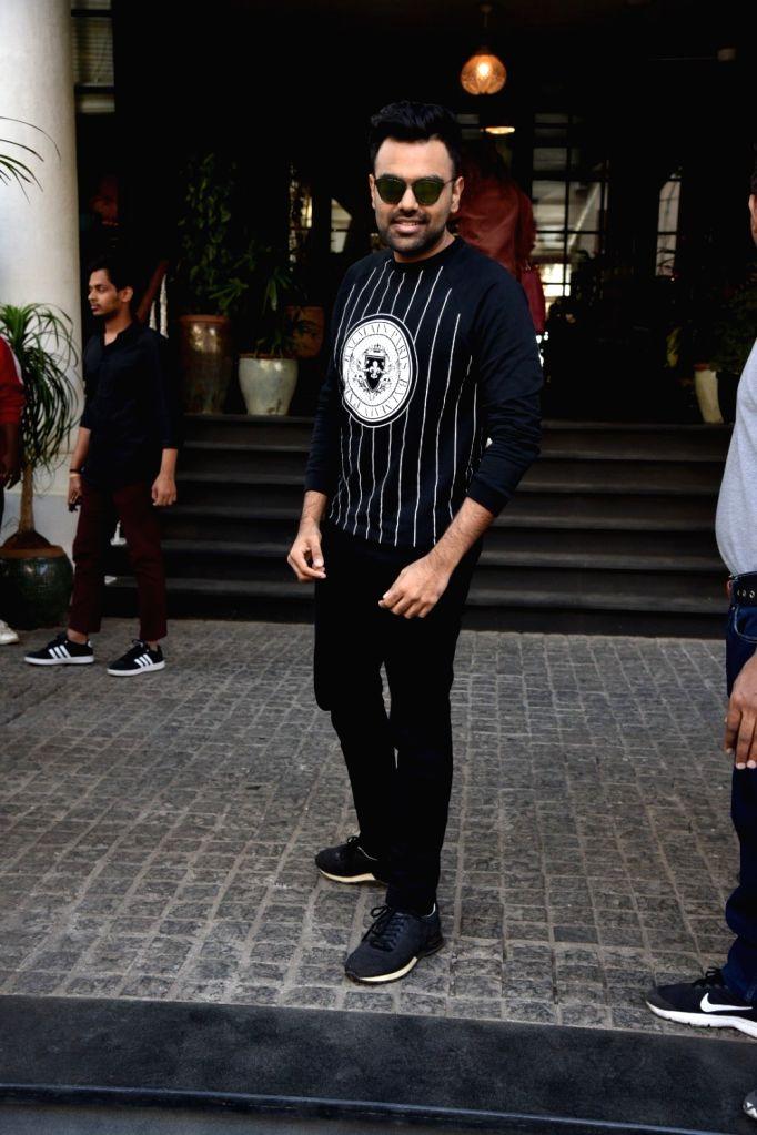 Rapper Emiway Bantai at a Mumbai club on March 7, 2019.