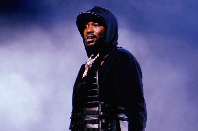 Rapper Meek Mill.