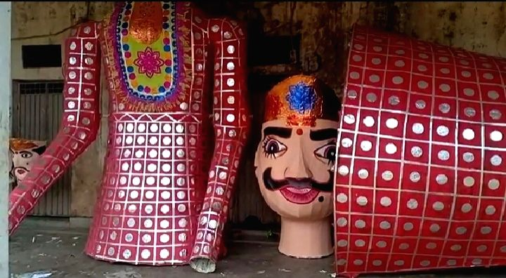 Ravana is considered as a symbol of injustice, tyranny and unrighteousness. People of all religions and castes want liberation from all these evils, this is the proof of the effigy of Ravana being ...