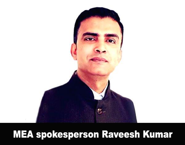 Raveesh Kumar. (Photo: @MEAIndia/Twitter) - Raveesh Kumar