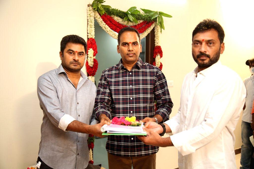 Ravi Teja, Sarath Mandava, SLV Cinemas LLP Production No 4 Launched on Tuesday, April 13, 2021.