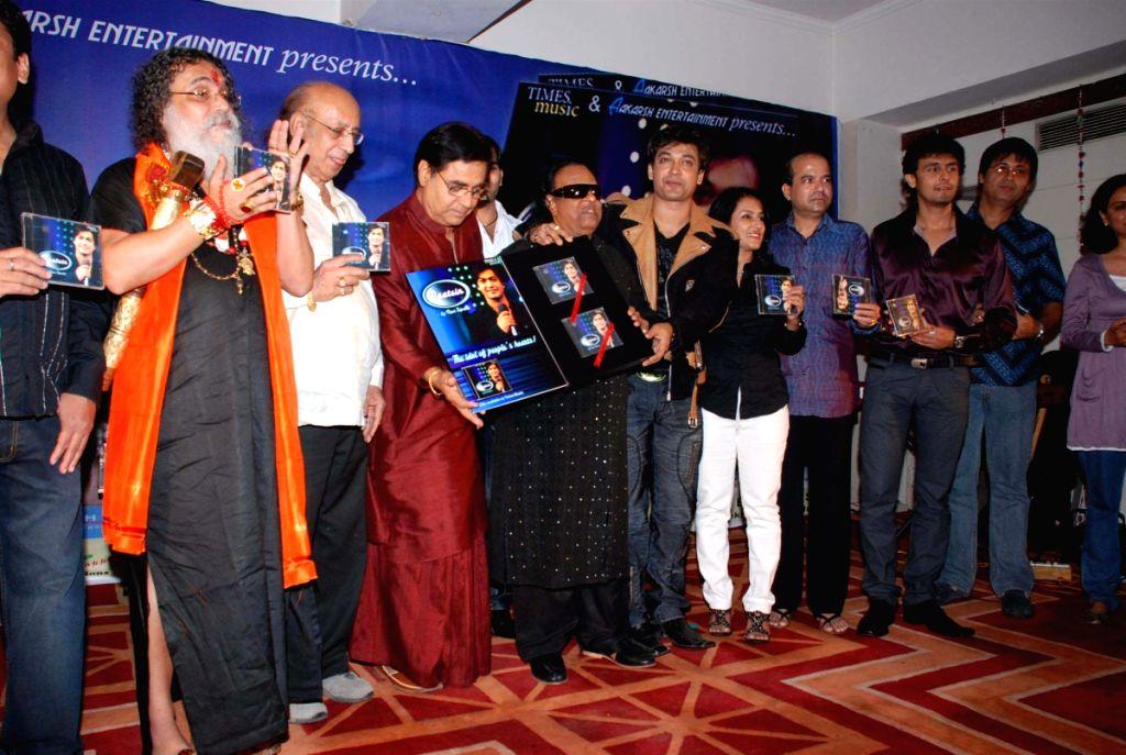 Ravi Tripathi's album launch.