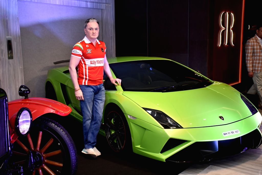 Raymond Group Chairman and Managing Director Gautam Singhania during a press conference regarding Parx Super Car Show 2019 in Mumbai, on Jan 31, 2019.