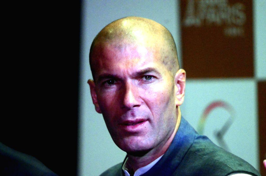 Real Madrid coach and former French footballer Zinedine Zidane. (File Photo: IANS)