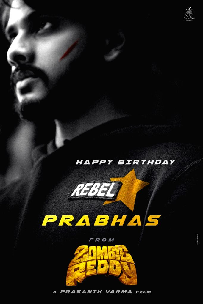 Rebel Star #Prabhas Birthday wishes from Team #ZombieReddy.