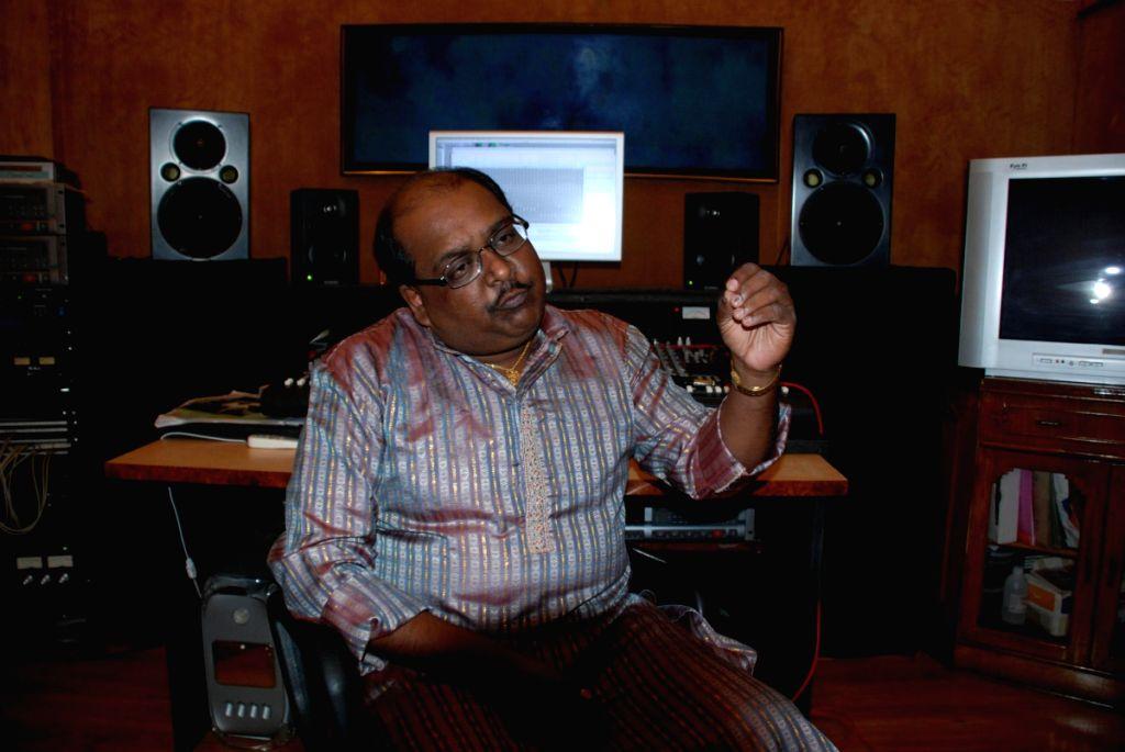 Recording of Ram Shankar's album Sajad's.