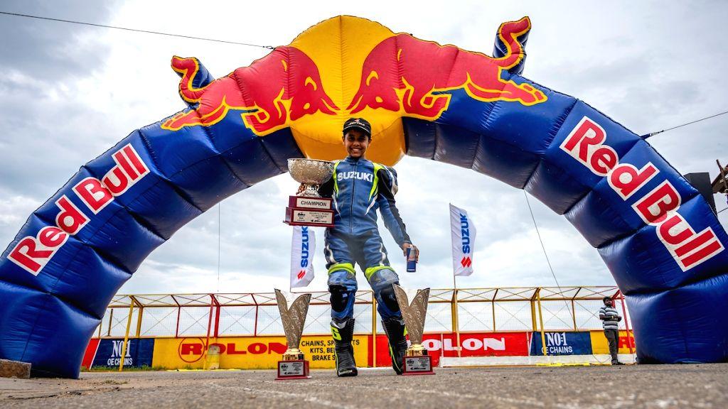 Red Bull Road to Rookies Cup winner Ikshan Shanbag from Satara.