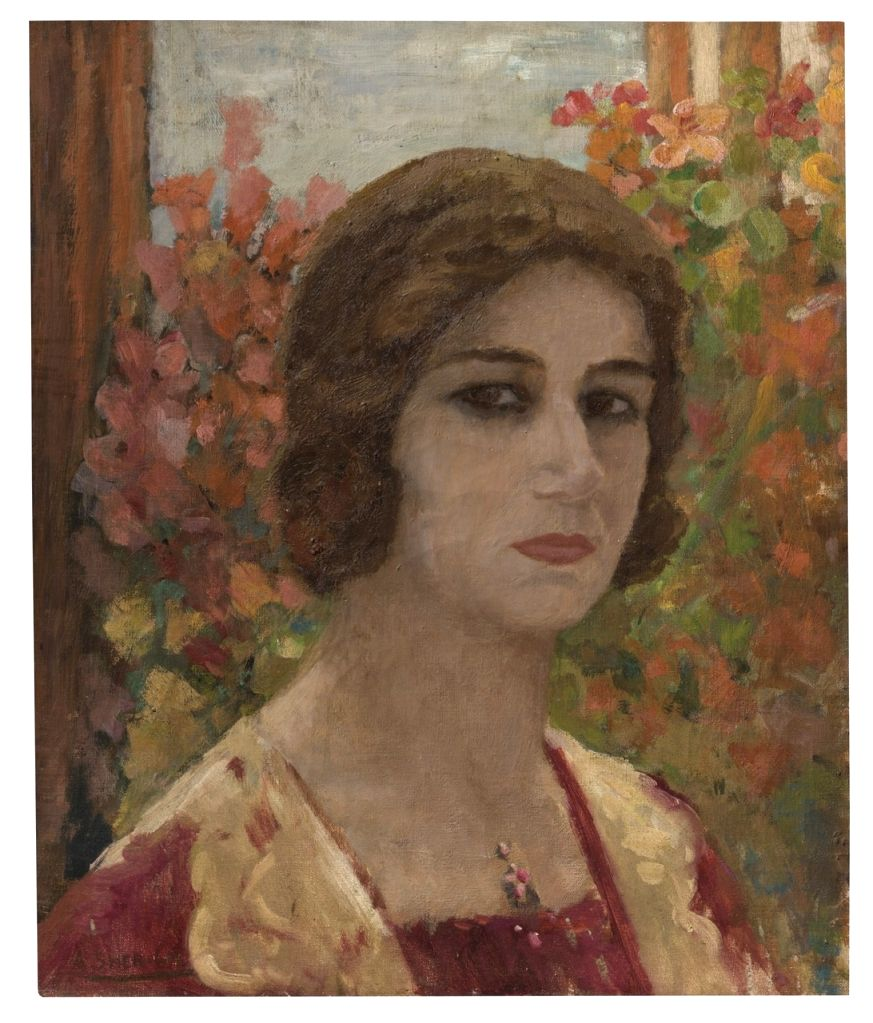 Rediscovered Amrita Sher-Gil painting heads to auction.(photo:Ianslife)