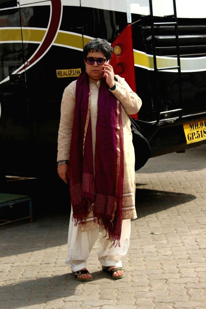 Reena Dutta, ex-wife of Aamir Khan seen at Mehboob Studio in Mumbai. - Aamir Khan