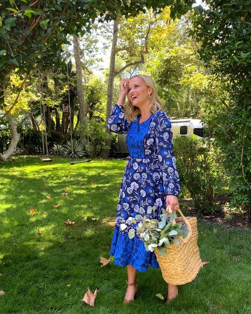 Reese Witherspoon reveals political aspiration.