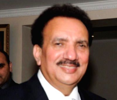 Rehman Malik. (Photo: Twitter/@SenRehmanMalik) - Malik