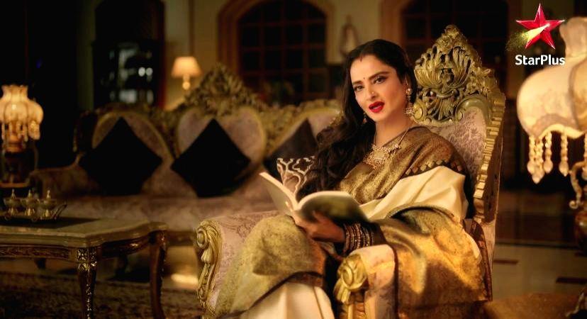 Rekha looks ageless in Ghum Hai Kisikey Pyaar Meiin' promo. - Rekha