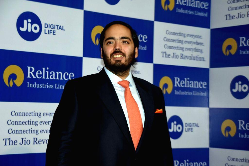 Reliance Industries (RIL) Chairman Mukesh Ambani's son, Anant Ambani at RIL's 42nd Annual General Meeting in Mumbai on Aug 12, 2019. - Mukesh Ambani and Anant Ambani