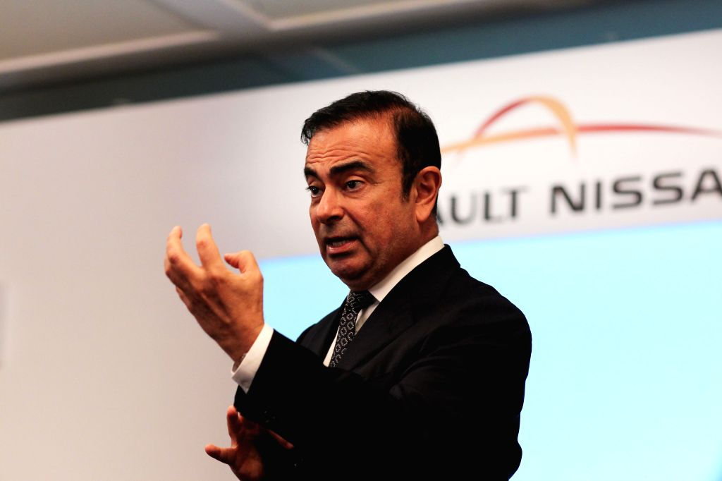 : Renault-Nissan Alliance Chairman Carlos Ghosn speaks during a round table meeting with media persons in Chennai on July 16, 2013. (Photo: IANS).