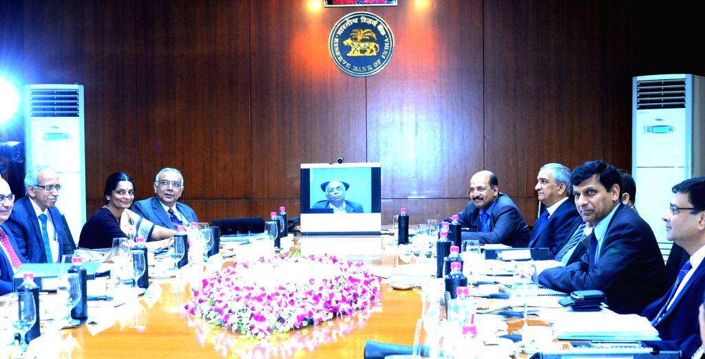 Reserve Bank of India Governor Raghuram G. Rajan at the RBI Central Board meeting, in Kolkata on Dec 11, 2015.