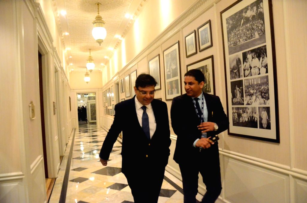 """Reserve Bank of India Governor Urjit Patel during the """"National Conference on Insolvency and Bankruptcy: Changing Paradigm"""" in Mumbai on Aug 19, 2017. - Urjit Patel"""