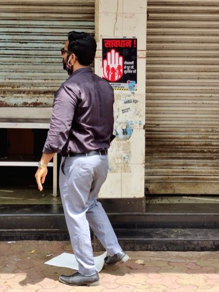 Respectable residents of a south Mumbai colony embarrassingly wedged in a red-light district have raised a banner of revolt against the sex-buyers who haunt the brothels situated here practically 24x7, in Mumbai on August 29, 2020. (Photo: IANS)