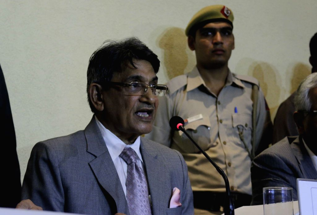 Retired Chief Justice, RM Lodha. (Photo: IANS)