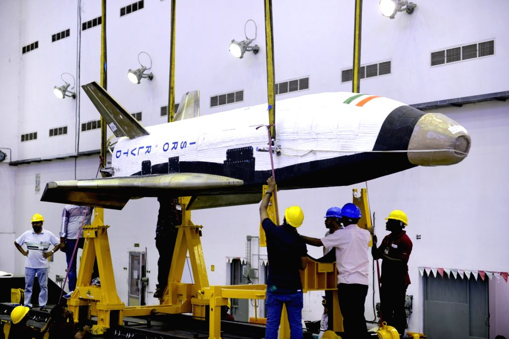 Reusable Launch Vehicle-Technology Demonstrator (RLV-TD) Images.(Photo By: ISRO)