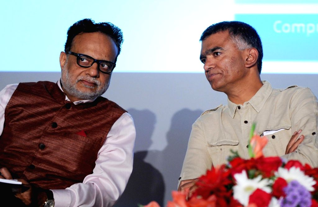 Revenue Secretary Hasmukh Adhia during a GST forum meeting in Bengaluru, on May 30, 2017.
