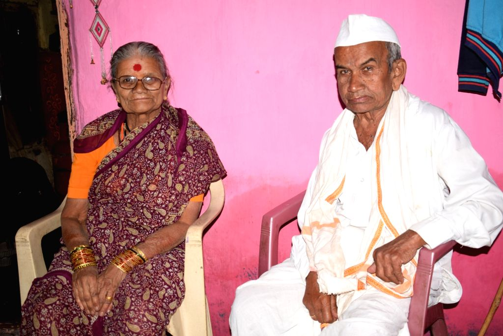 Revnnath and Chandrakala Wagh,Ghatnandra Village.