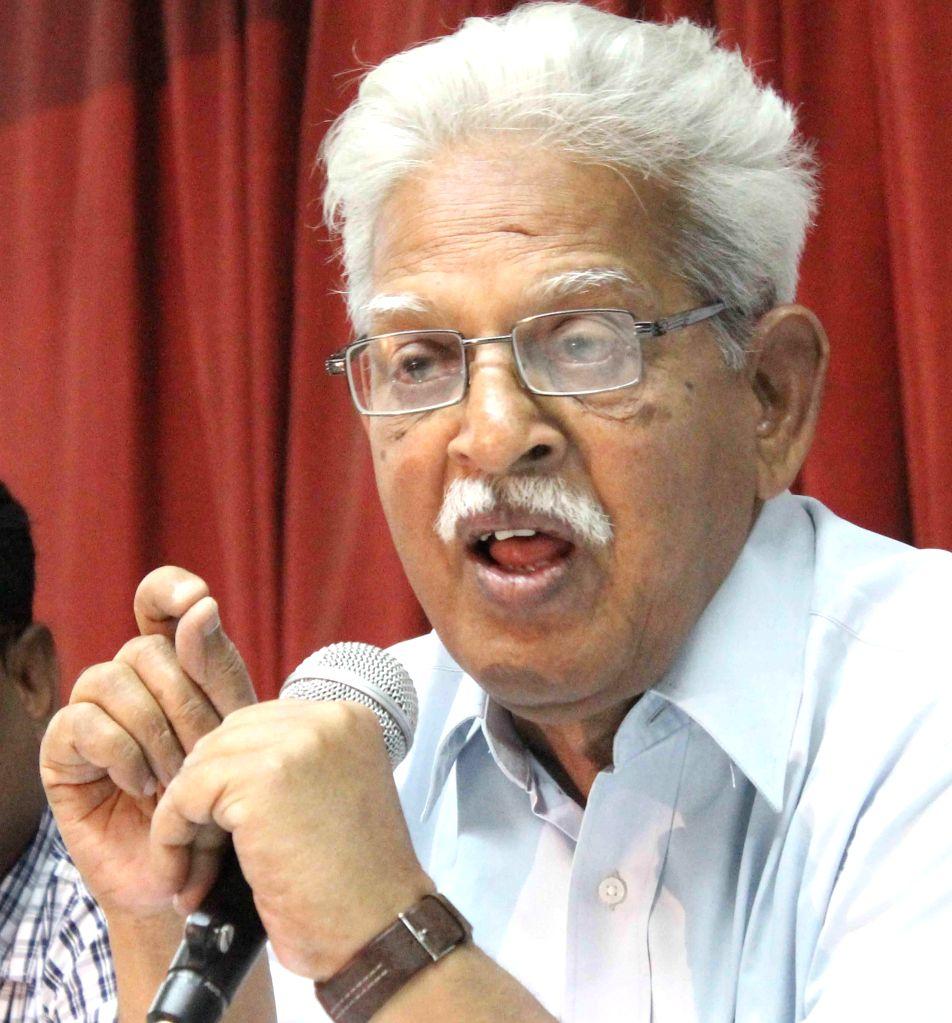 Revolutionary writer Varavara Rao (Photo: IANS) - Varavara Rao