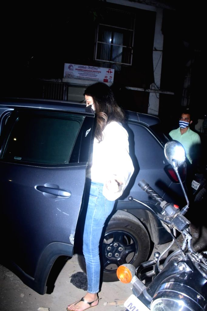 Rhea Chakraborty spotted in Bandra on Wednesday 03rd March, 2021. - Chakraborty
