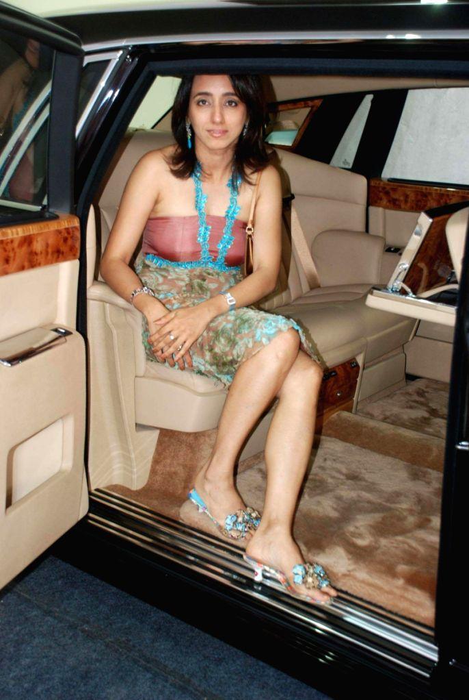 Rhea Nasta at her Rolls Royce Brunch.
